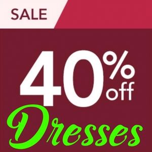 40% OFF DRESSES SALE!💃 Over Dresses 100 Available